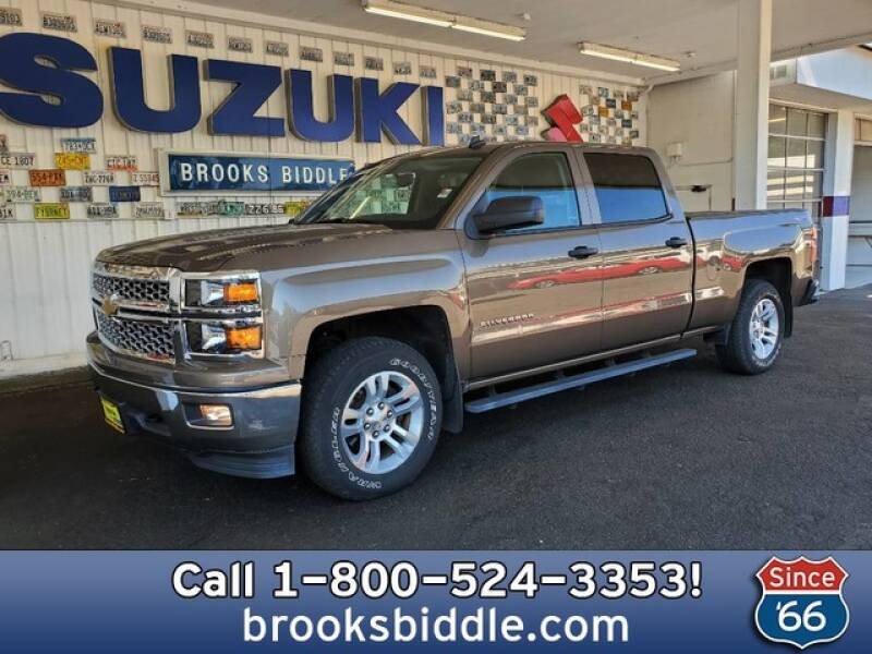 2014 Chevrolet Silverado 1500 for sale at BROOKS BIDDLE AUTOMOTIVE in Bothell WA