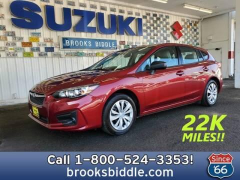 2017 Subaru Impreza for sale at BROOKS BIDDLE AUTOMOTIVE in Bothell WA