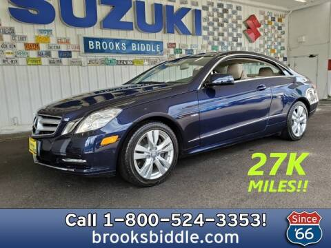 2012 Mercedes-Benz E-Class for sale at BROOKS BIDDLE AUTOMOTIVE in Bothell WA