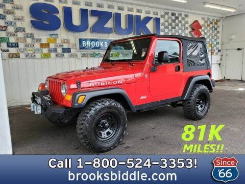 2006 Jeep Wrangler for sale at BROOKS BIDDLE AUTOMOTIVE in Bothell WA