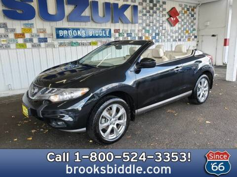 2014 Nissan Murano CrossCabriolet for sale at BROOKS BIDDLE AUTOMOTIVE in Bothell WA