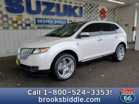 2011 Lincoln MKX for sale at BROOKS BIDDLE AUTOMOTIVE in Bothell WA