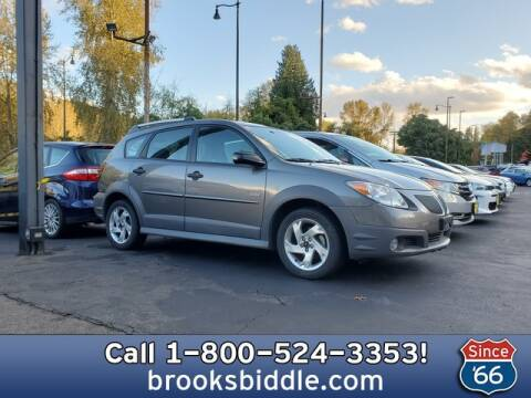 2007 Pontiac Vibe for sale at BROOKS BIDDLE AUTOMOTIVE in Bothell WA