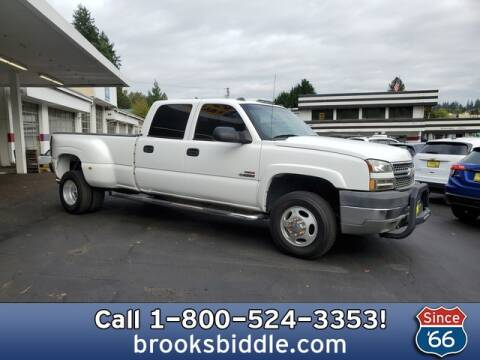 2005 Chevrolet Silverado 3500 for sale at BROOKS BIDDLE AUTOMOTIVE in Bothell WA