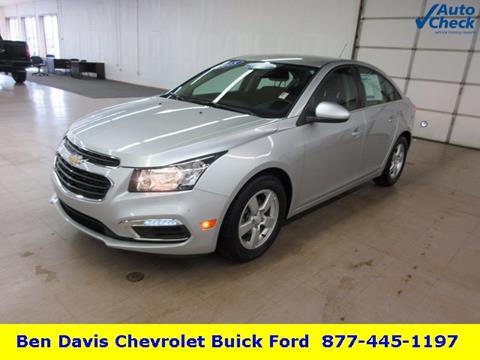 2015 Chevrolet Cruze for sale in Auburn, IN