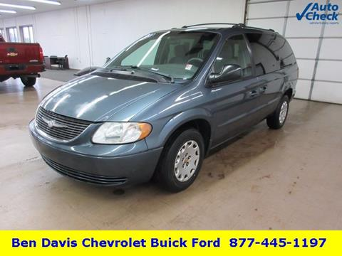 2002 Chrysler Town and Country for sale in Auburn, IN