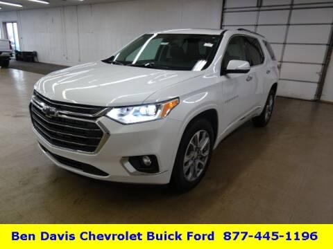 2020 Chevrolet Traverse Premier for sale at Ben Davis Chevrolet Buick in Auburn IN