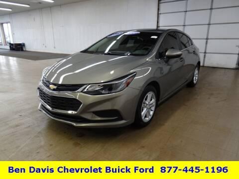 2017 Chevrolet Cruze LT Auto for sale at Ben Davis Chevrolet Buick in Auburn IN