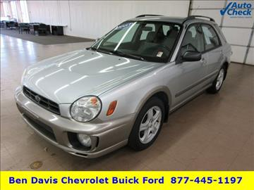 2003 Subaru Impreza for sale in Auburn, IN