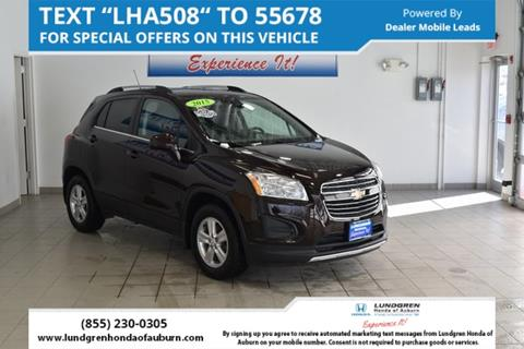 Used Chevrolet Trax For Sale In Massachusetts Carsforsalecom - Massachusetts chevrolet dealers