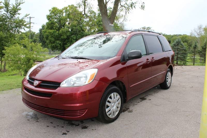 2004 Toyota Sienna For Sale At C And T Auto Sales In Evansville WI