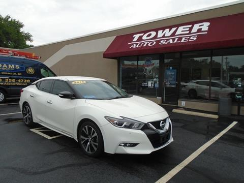 2016 Nissan Maxima for sale in Schenectady, NY