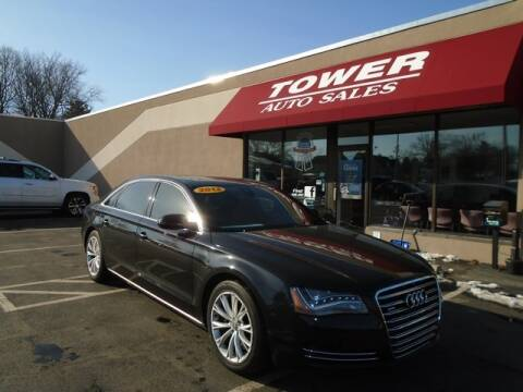 2012 Audi A8 L quattro for sale at Tower Auto Sales in Schenectady NY