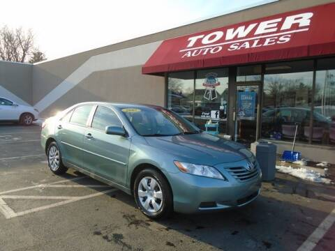2007 Toyota Camry LE for sale at Tower Auto Sales in Schenectady NY