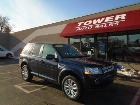 2013 Land Rover LR2 HSE for sale at Tower Auto Sales in Schenectady NY