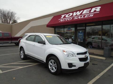 2013 Chevrolet Equinox LS for sale at Tower Auto Sales in Schenectady NY
