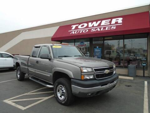 2007 Chevrolet Silverado 2500HD Classic for sale at Tower Auto Sales in Schenectady NY