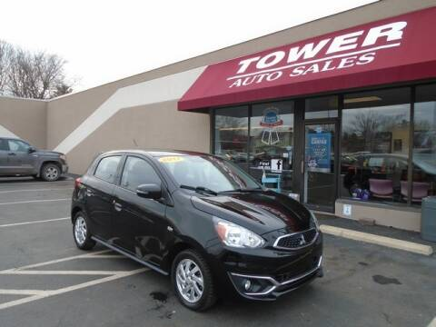 2017 Mitsubishi Mirage for sale at Tower Auto Sales in Schenectady NY