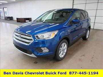 2017 Ford Escape for sale in Auburn, IN