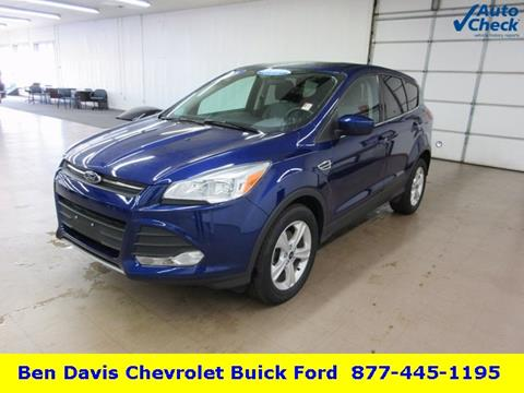 2015 Ford Escape for sale in Auburn, IN