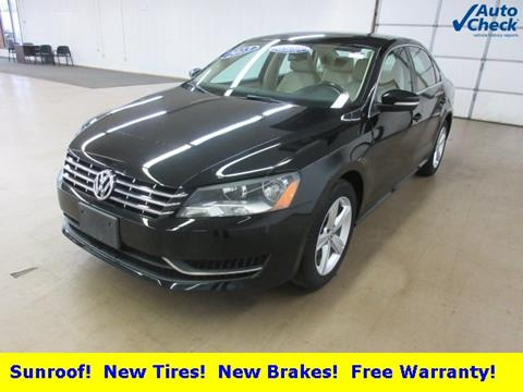 2013 Volkswagen Passat for sale in Auburn, IN