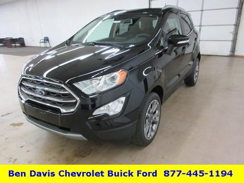 2019 Ford EcoSport for sale in Auburn, IN
