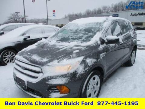 2017 Ford Escape S for sale at Ben Davis Ford in Auburn IN