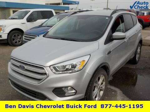 2018 Ford Escape SEL for sale at Ben Davis Ford in Auburn IN