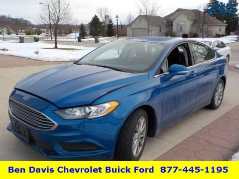 2017 Ford Fusion SE for sale at Ben Davis Ford in Auburn IN