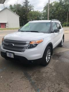 2013 Ford Explorer for sale at Averys Auto Group in Lapeer MI