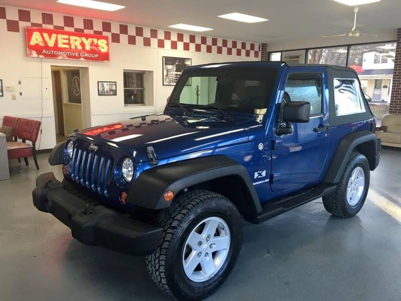 2009 Jeep Wrangler for sale at Averys Auto Group in Lapeer MI