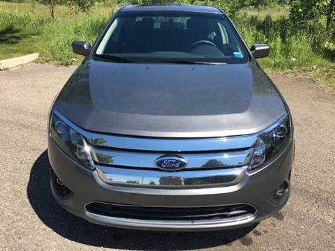 2012 Ford Fusion for sale at Averys Auto Group in Lapeer MI