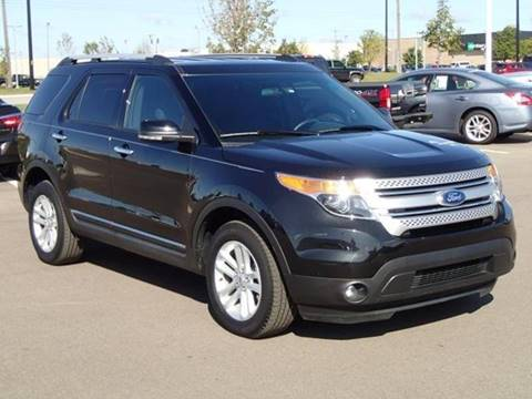 2015 Ford Explorer for sale at Averys Auto Group in Lapeer MI