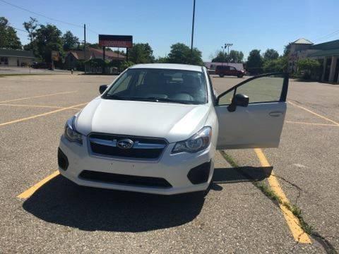 2012 Subaru Impreza for sale at Averys Auto Group in Lapeer MI