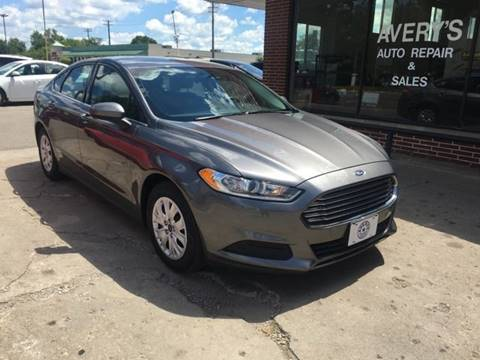 2013 Ford Fusion for sale at Averys Auto Group in Lapeer MI