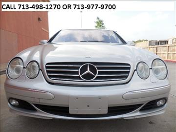 2003 Mercedes-Benz CL-Class for sale in Houston, TX