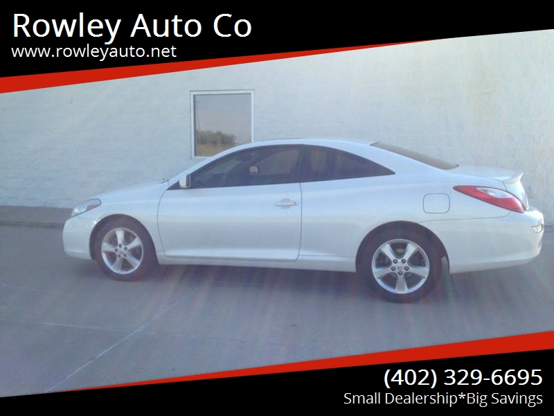 2008 toyota camry solara sle v6 2dr coupe 5a in pierce ne rowley auto co. Black Bedroom Furniture Sets. Home Design Ideas