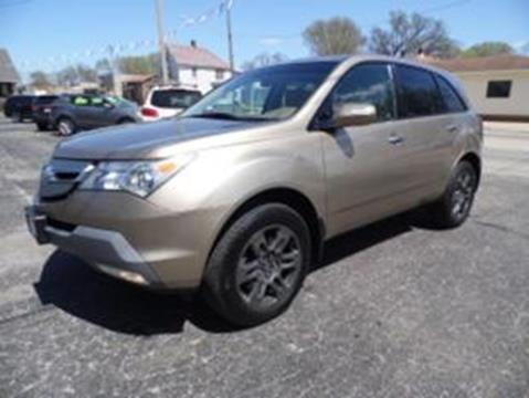 2008 Acura MDX for sale at PEKIN DOWNTOWN AUTO SALES in Pekin IL