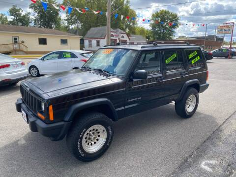 1997 Jeep Cherokee for sale at PEKIN DOWNTOWN AUTO SALES in Pekin IL