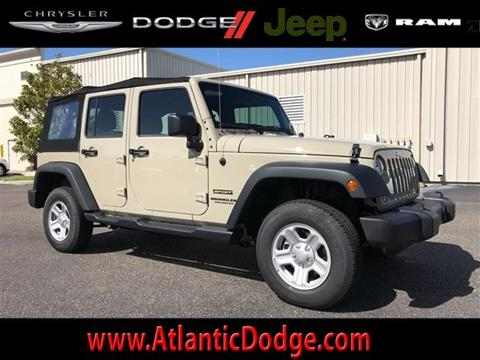 2017 Jeep Wrangler Unlimited for sale in Saint Augustine, FL