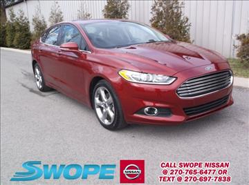 2015 Ford Fusion for sale in Elizabethtown, KY