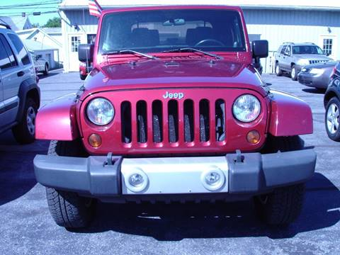 2012 Jeep Wrangler Unlimited for sale in New Cumberland, PA