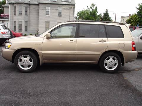 2005 Toyota Highlander for sale in New Cumberland, PA