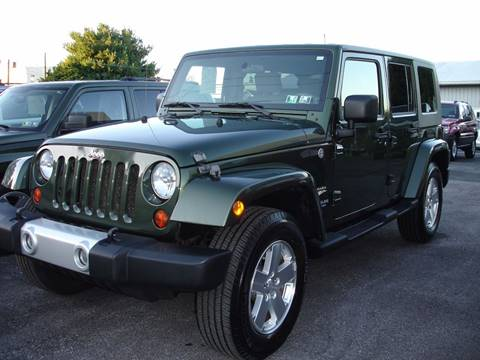 2009 Jeep Wrangler Unlimited for sale in New Cumberland, PA