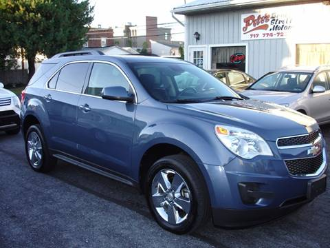 2012 Chevrolet Equinox for sale in New Cumberland, PA