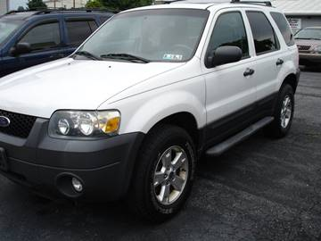 2007 Ford Escape for sale at Pete's Bridge Street Motors in New Cumberland PA
