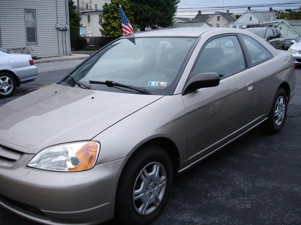 2002 Honda Civic for sale at Pete's Bridge Street Motors in New Cumberland PA