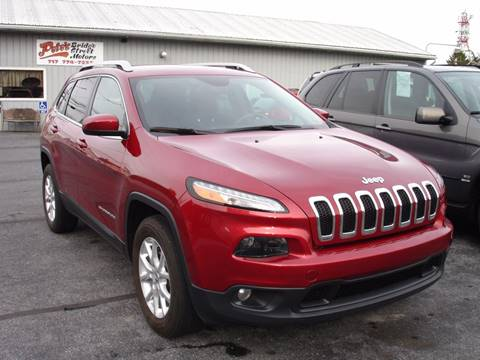 2015 Jeep Cherokee for sale in New Cumberland, PA