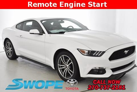 2015 Ford Mustang for sale in Elizabethtown, KY