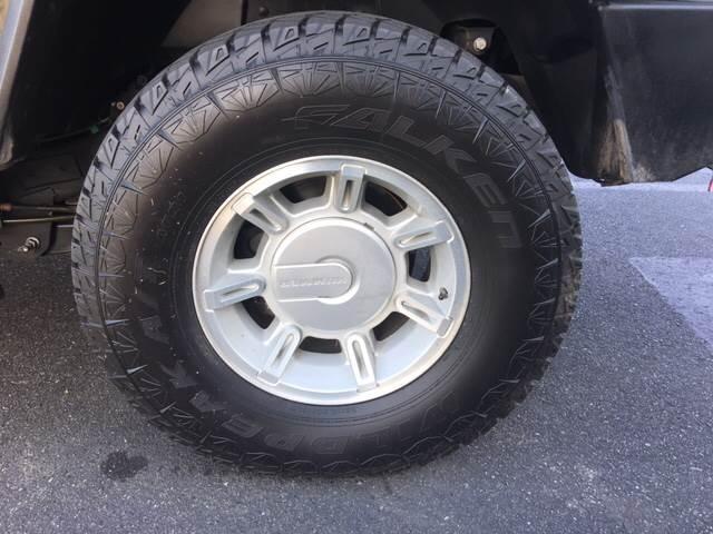 2004 HUMMER H2 Adventure Series 4WD 4dr SUV - Pleasanton CA